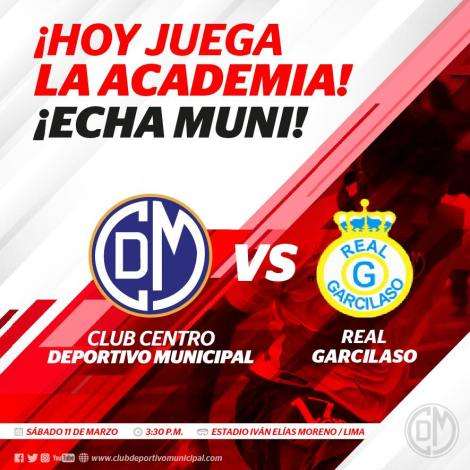 Deportivo Municipal vs. Real Garcilaso EN VIVO
