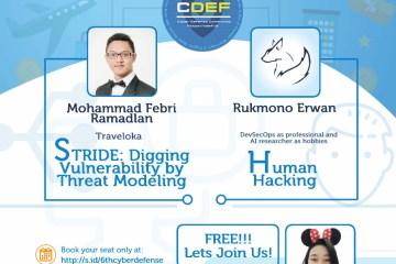 6th Cyber Defense Community Meetup