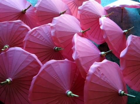 Umbrella factory, Chiang Mai