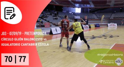 19-09-07. P3 - PRET - vs Circulo Gijón (F)