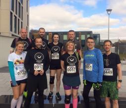 Merthyr Half Marathon 22nd March 2015 - before