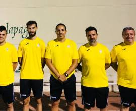 Cuerpo técnico primer equipo 2018/2019