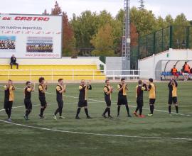 Primer equipo saluda a su afición
