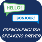 FRENCH ENGLISH SPEAKING DRIVER BLUE