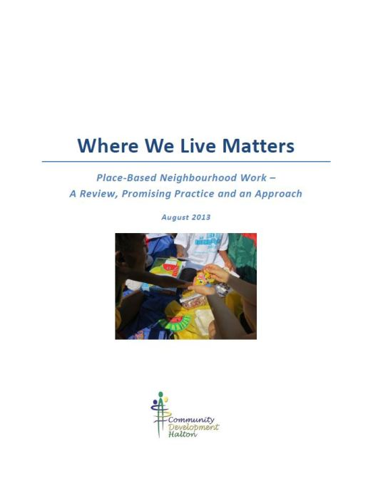 Where We Live Matters
