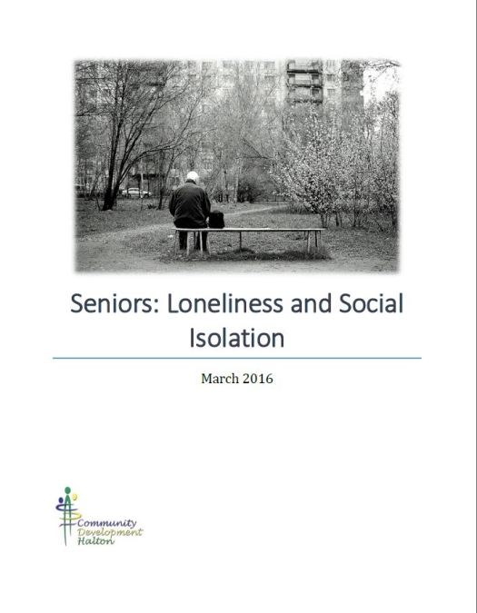 Seniors: Loneliness and Social Isolation