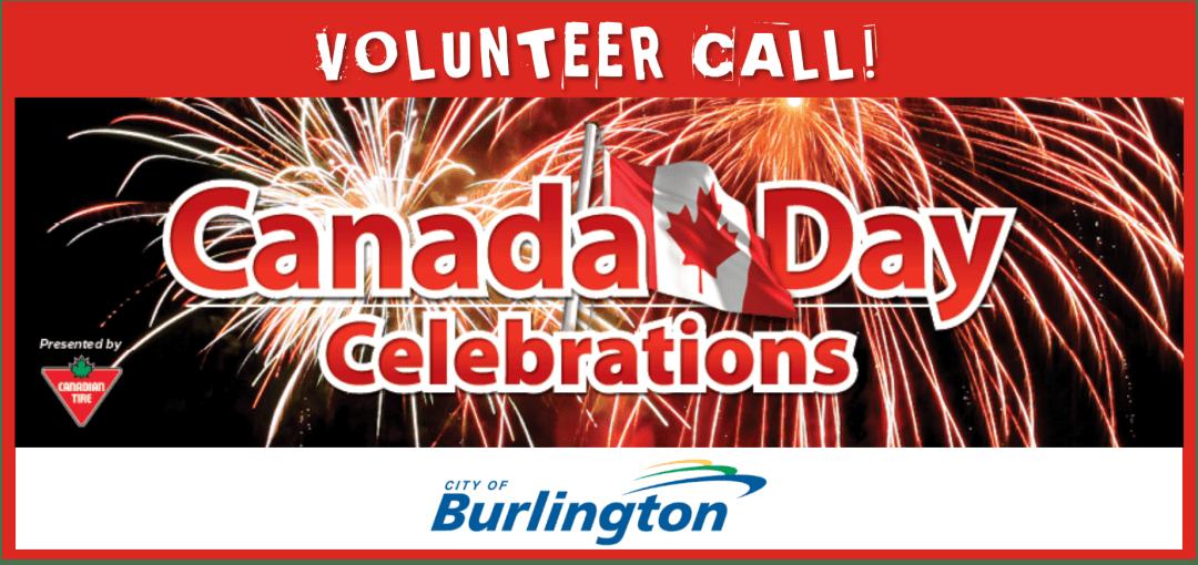 Canada Day Volunteer