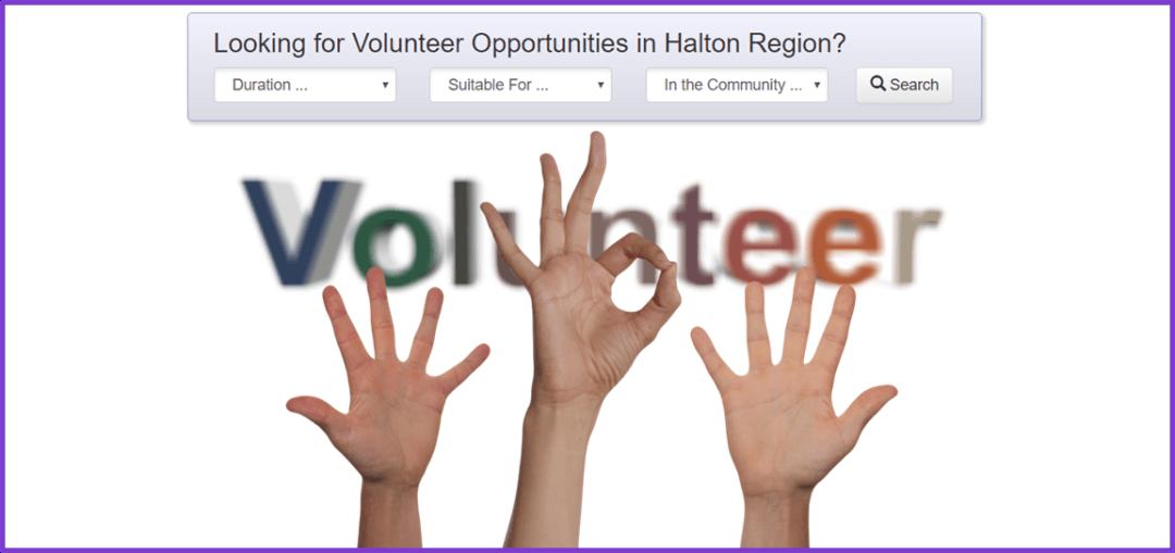Halton Volunteer Opportunities