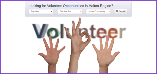 Halton Volunteer Opportunities