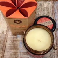 Organic Soy Wax Scented Candle