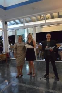 Madelyne Kaschten reçoit le prix de la 6ème meilleure plaideuse