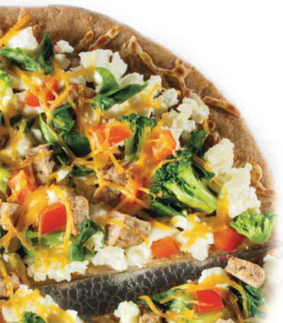 Healthy Spring Recipes: Daybreak Scramble Pizza