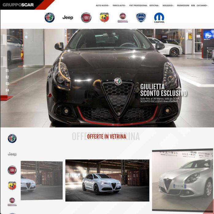 dealer website concessionaria auto sito web
