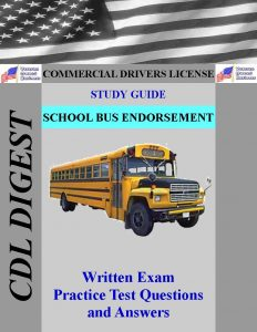 CDL Study Guide School Bus Endorsement