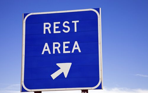 Busy Rest Areas Temporarily Closed This Weekend