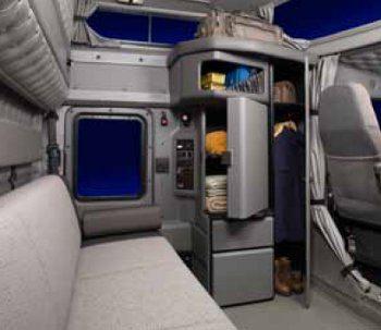 Kenworth W900L Sleeper Cab