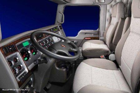 W900 Cockpit Kenworth Diesel
