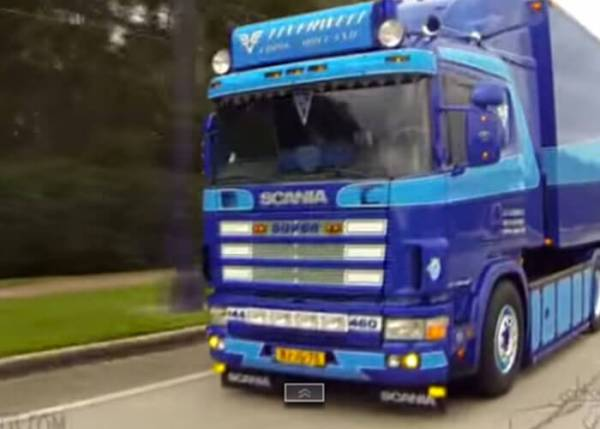 ROLLING INTERVIEW 2000 SCANIA