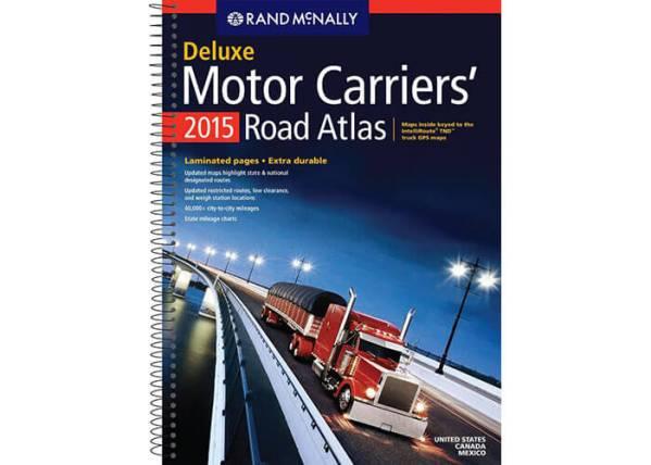 Rand McNally Motor Carriers Road Atlas 2015