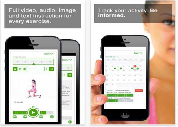 App Review: 7 Minute Workout Challenge