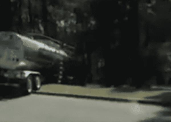 Tanker Truck Rolls Down Hill