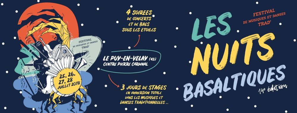 """Bientôt, la programmation des """"Nuits Basaltiques 2018"""" …"""