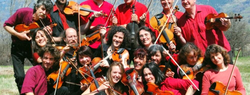 Les Violons du Rigodon jouent en ville !