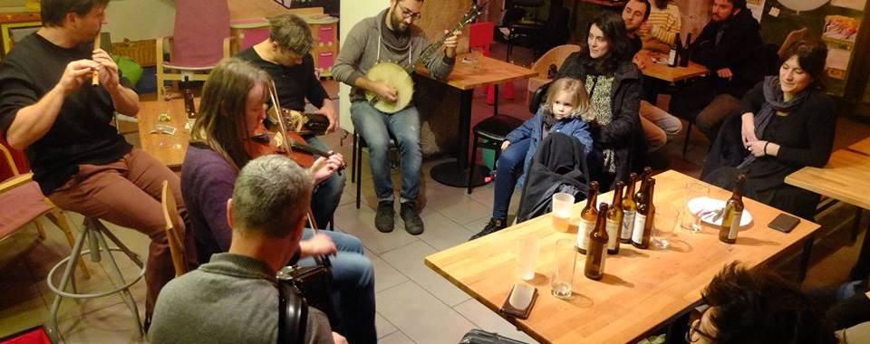 Retour sur : le concert de Jéricho / session trad' & la projection au Monastier-sur-Gazeille