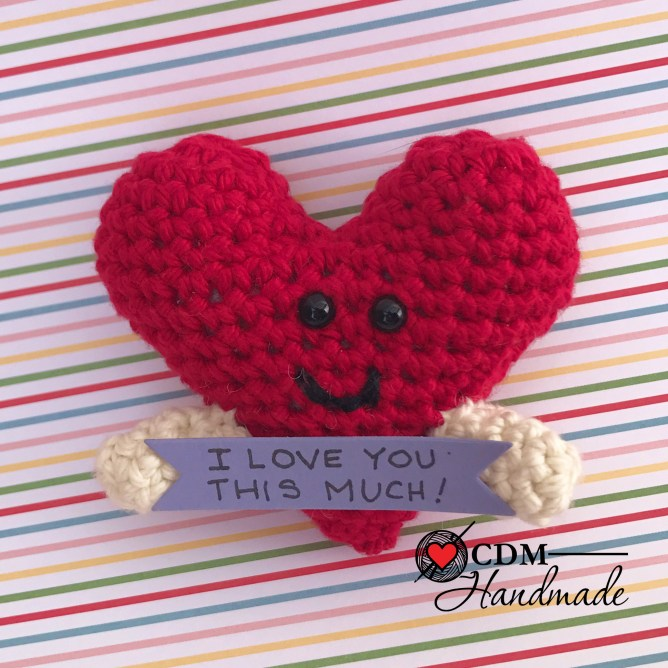 Heart Full of Love FREE Valentine Crochet Amigurumi Pattern