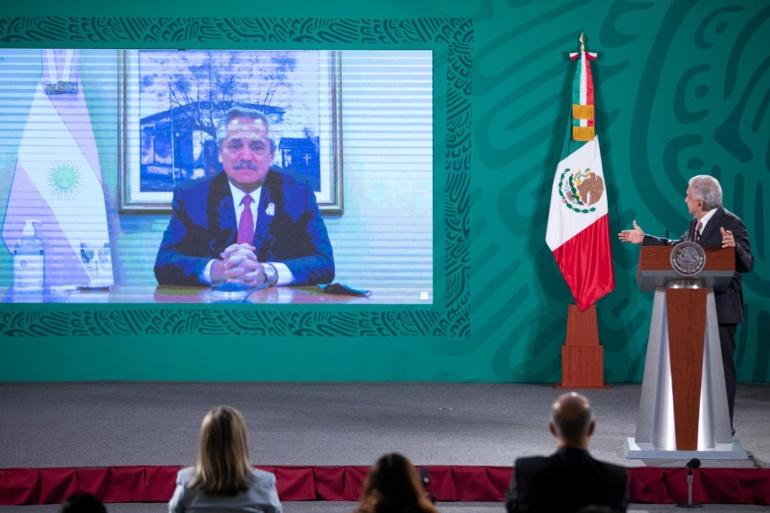 Mexico y Argentina fortalecen cooperacion para producir vacuna de AstraZeneca