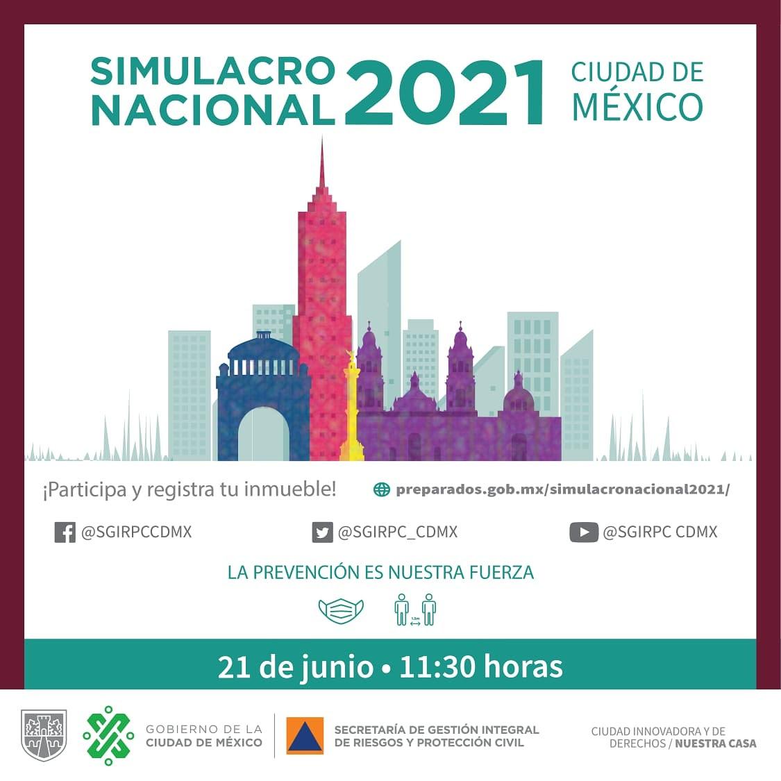 SIMULACRO NACIONAL 2021