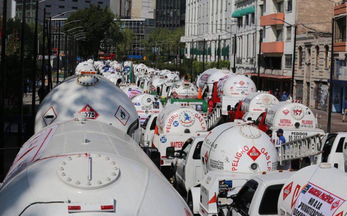 Gaseros inician paro en CDMX y Edomex y 5 estados mas