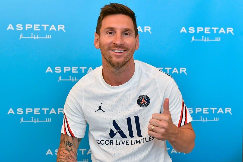 Messi llega al Paris Saint Germain