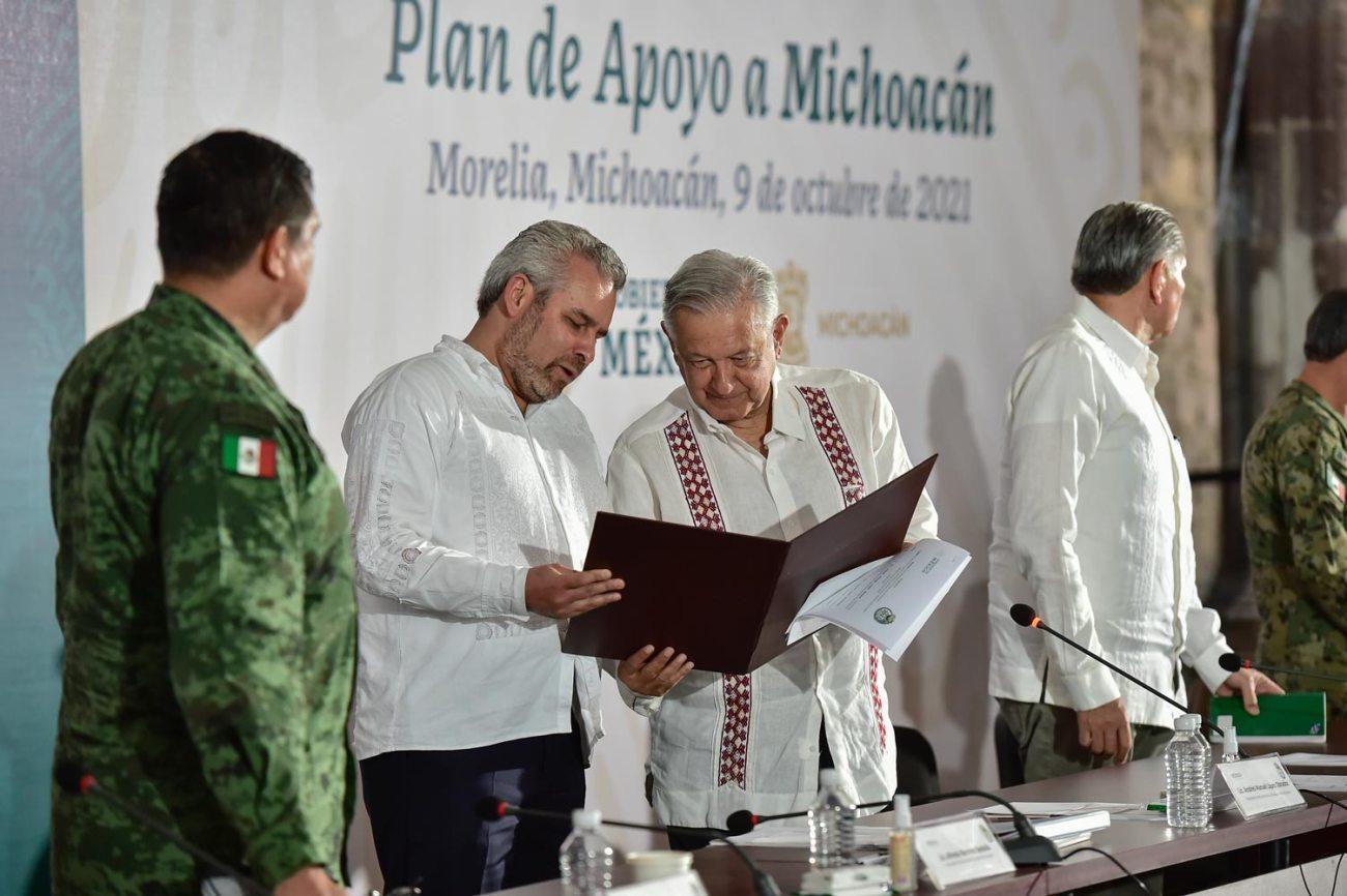 amlo michoacan
