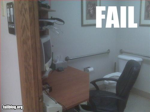 Work Space Fail