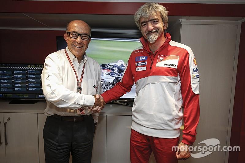 Ducati conferma la sua presenza in MotoGP per altri cinque anni