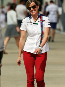 Susie Wolff, pilote de développement Williams
