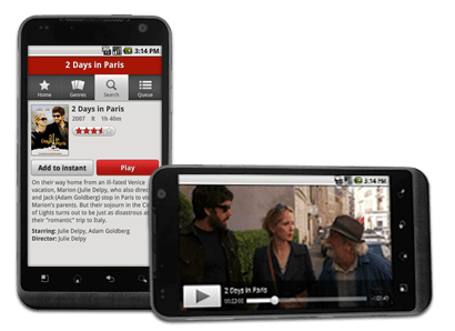 Netflix for Android Phone