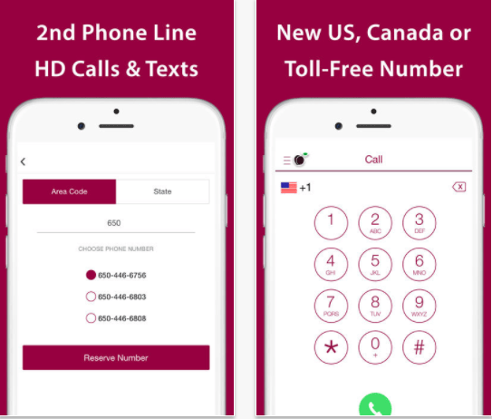 25 Android and iPhone Second Phone Number Apps for Business Only Calls - iPlum