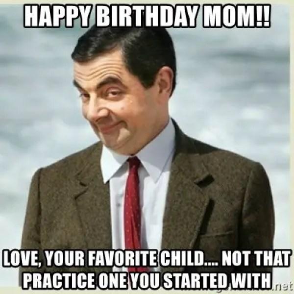 Happy Birthday Mom Funny Meme
