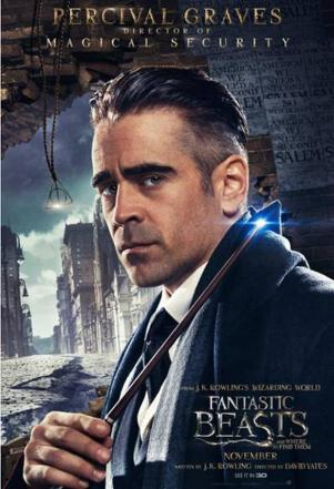 Image result for colin farrell fantastic beasts