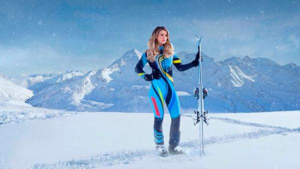 ITV's The Jump claims another victim as Vogue Williams is ...