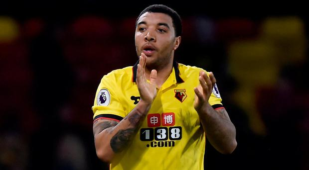 Image result for troy deeney 2017 goal
