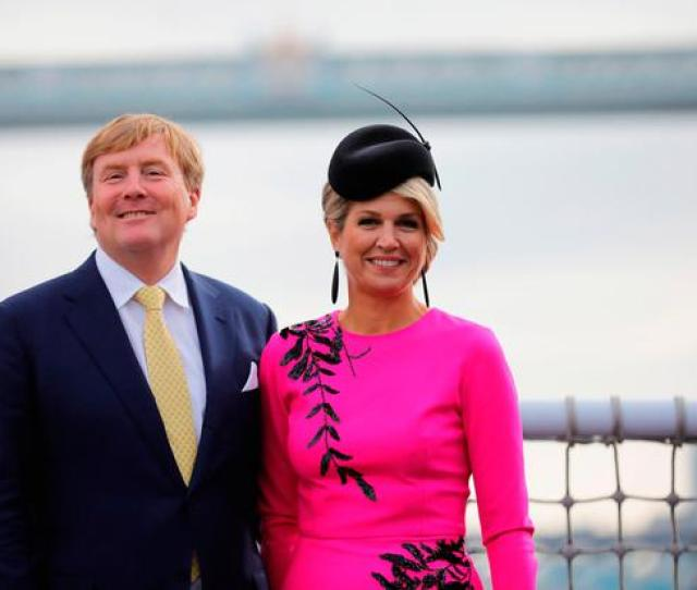 King Willem Alexander Of The Netherlands And Queen Maxima Of The Netherlands In London