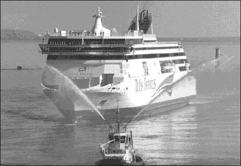 Local firms input into worlds biggest car ferry Ulysses ...