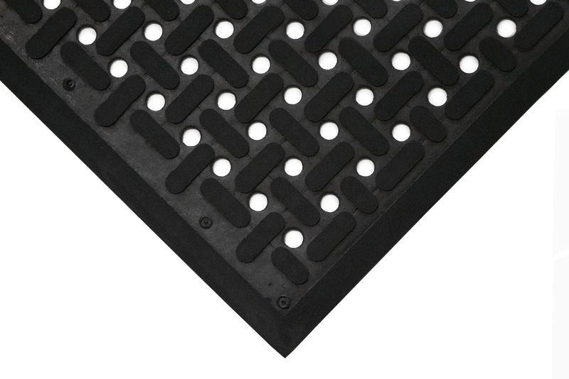 tapis anti fatigue en croix pour industrie alimentaire