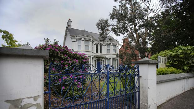 The former Kincora Boys' Home on the Upper Newtonards Road, Belfast