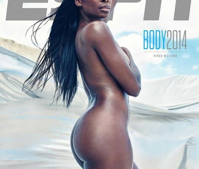 Venus Williams Poses Nude On The 2014 Espn Body Magazine Issue