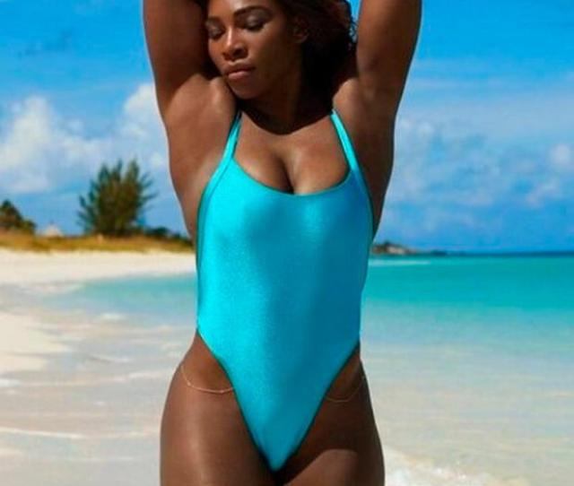 By Baring Practically All In This Swimsuit Issue Serena Has Loaded Importance