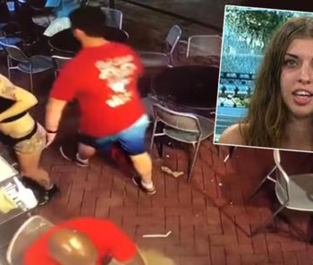 Watch This Video Of A 21 Year Old Waitress Bodyslamming A Man For Groping Her Has Set The Internet Alight
